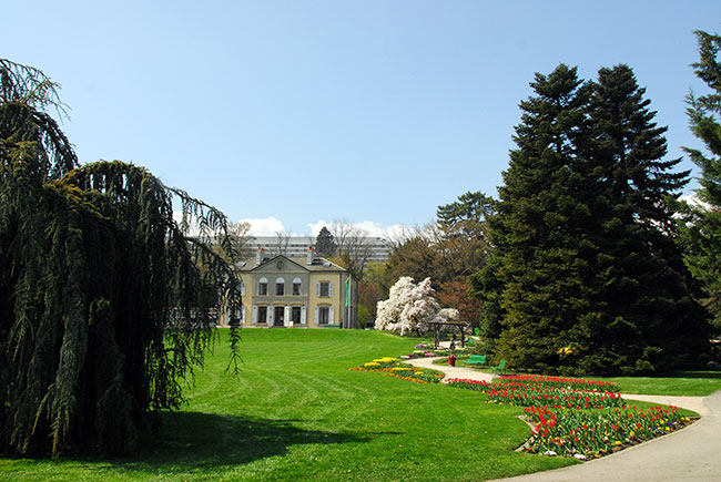 Gen ve tourisme et patrimoine guide touristique du for Jardin botanique geneve
