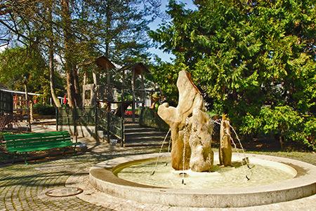 la fret enchante aire de jeux pour enfants jardin botanique genve - Jardin Botanique Geneve