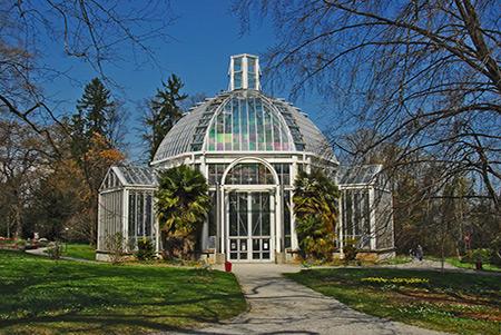 Conservatoire Et Jardin Botanique A Geneve Suisse